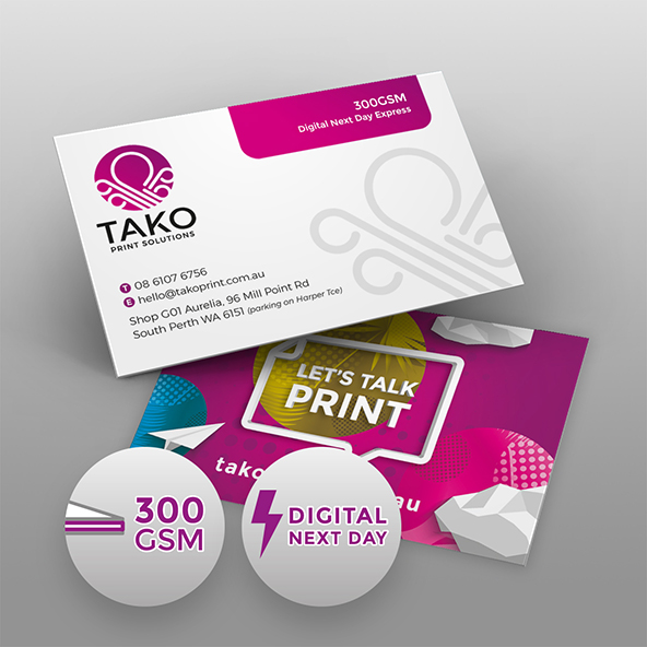 Digital Next Day Business Cards Tako Print Solutions